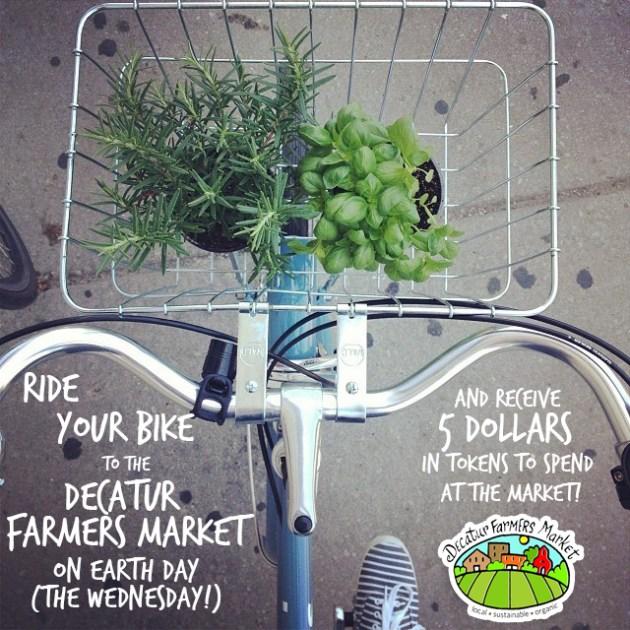DFM Bike to the Market Promo Graphic