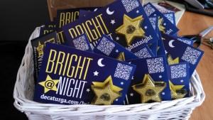 bright at night lights
