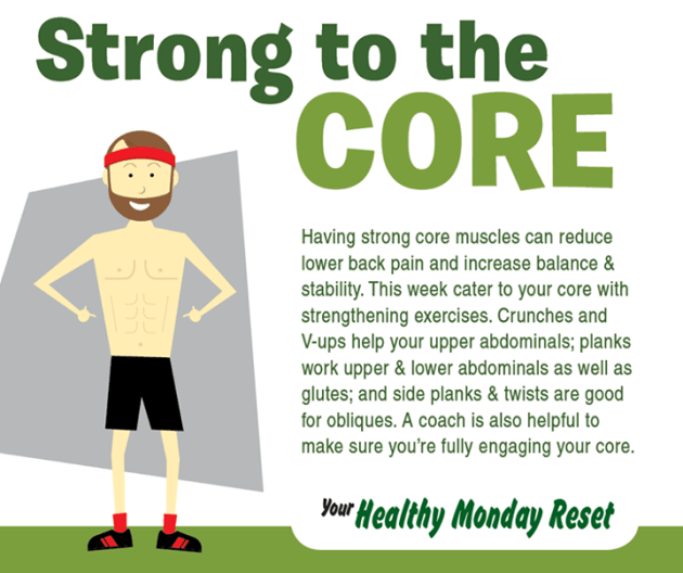 strong to core
