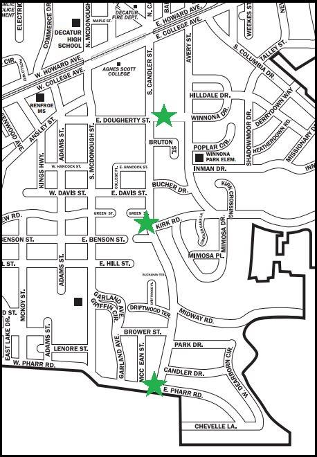 Big walk map