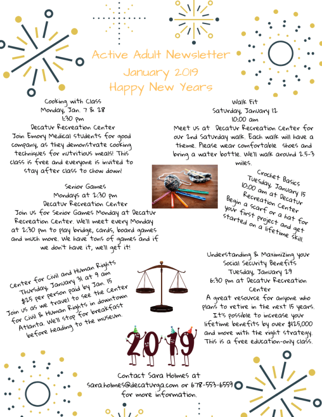 Active Adult Newsletter January 2019 (1)