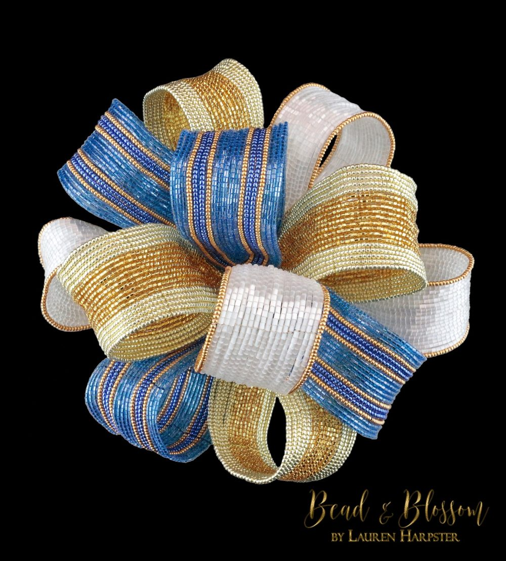 French Beaded Bow by Lauren Harpster