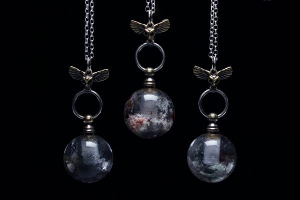 Crystal Bottle Necklaces