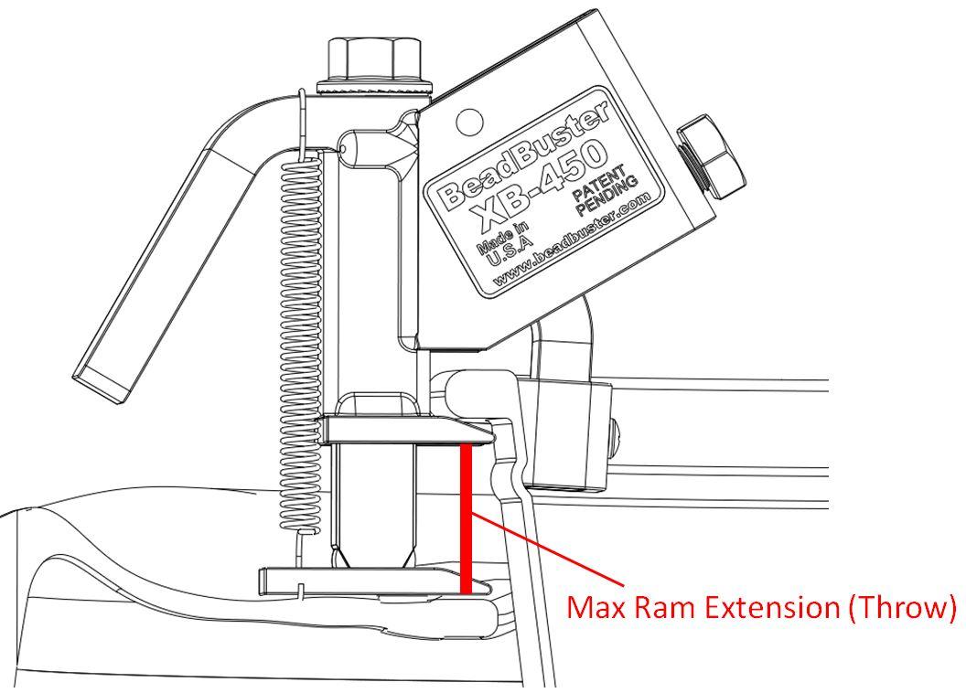 BeadBuster XB-455 (BB4) Tire Bead Breaker