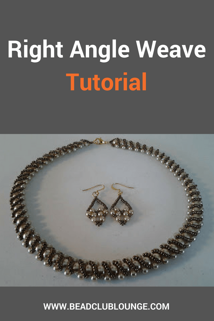 Right Angle Weave is a versatile stitch that can be used to make beaded jewelry. Use this tutorial to make a necklace or bracelet.