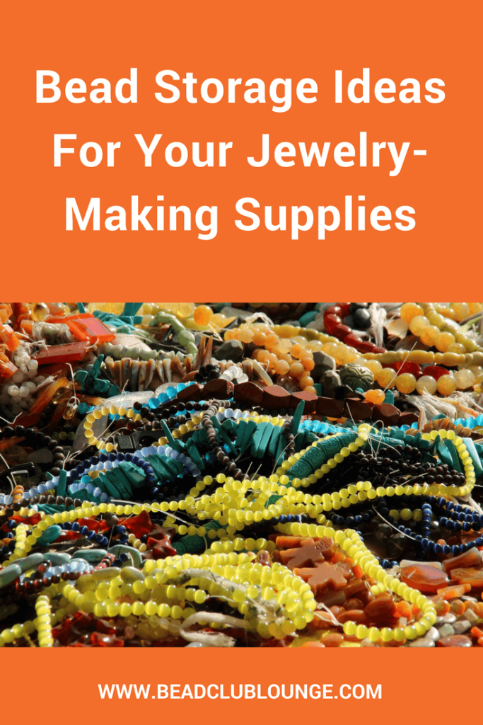 Beading supplies just seem to multiply, don't they? Here are some bead storage ideas that you can use to corral your beads.