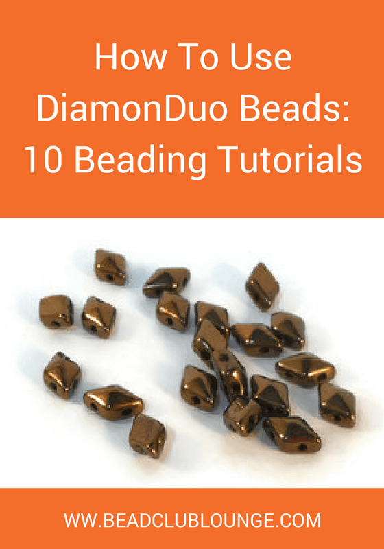 Do you want to make your own jewelry using DiamonDuo beads but you're not sure where to start? Use this list of ten tutorials to get you going!