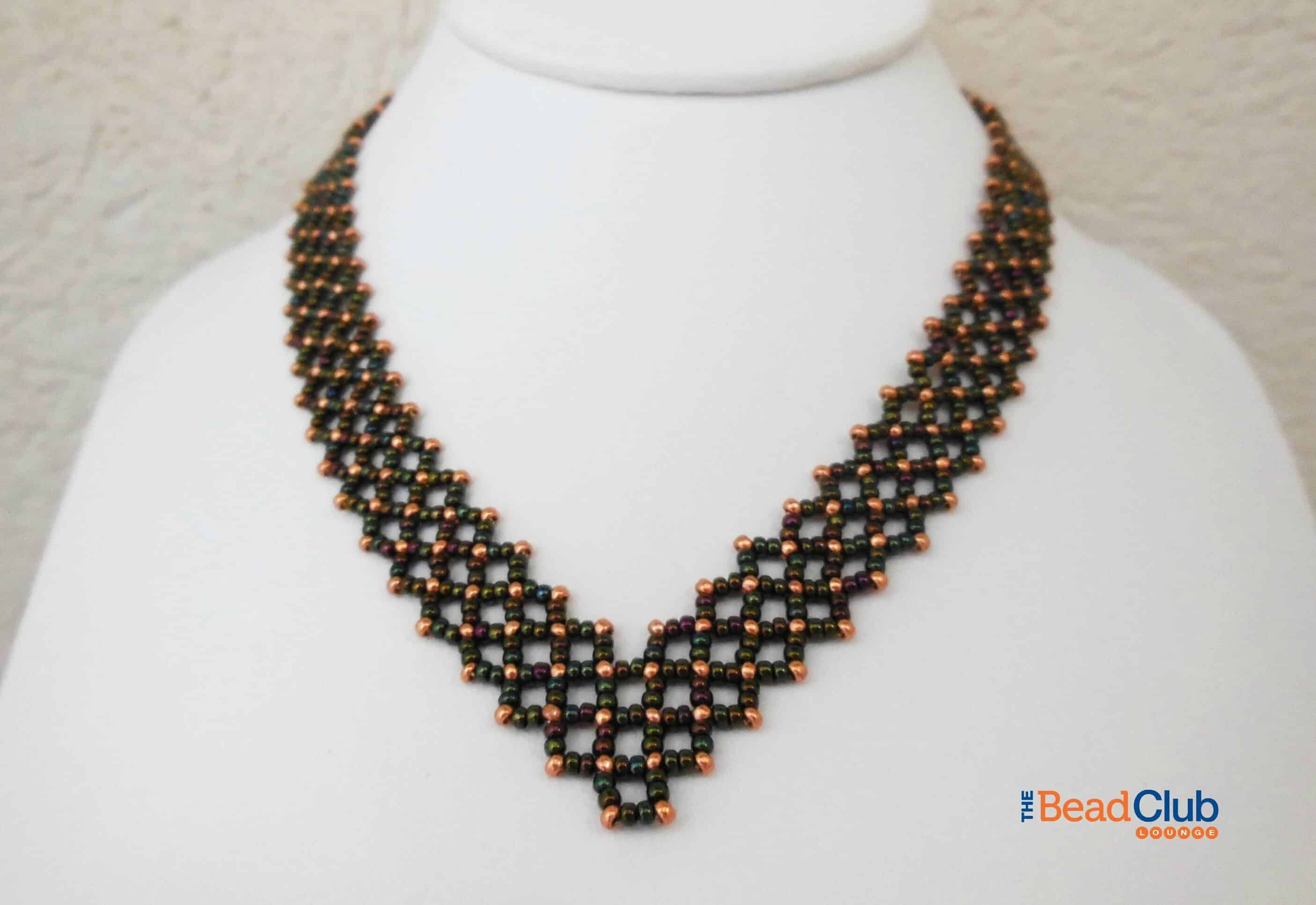 beaded il zoom necklace pattern necklacenecklace listing bead patternnecklace fullxfull tutorial