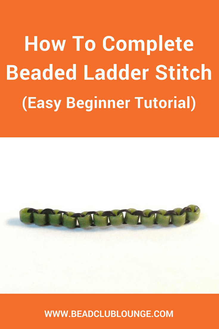 Ladder Stitch is commonly used as the base for other bead weaving techniques but can be used on its own. Follow this free tutorial to learn this stitch.