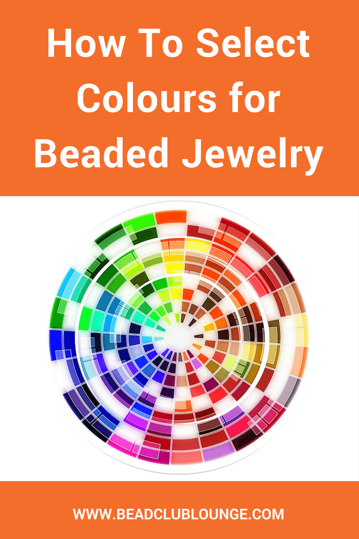 Here are two easy ideas you don't want to miss to select colors when you're making beaded jewelry. Both methods give you beautiful color combos! Find out what they are! #beading #beadwork #craft #jewelrymaking