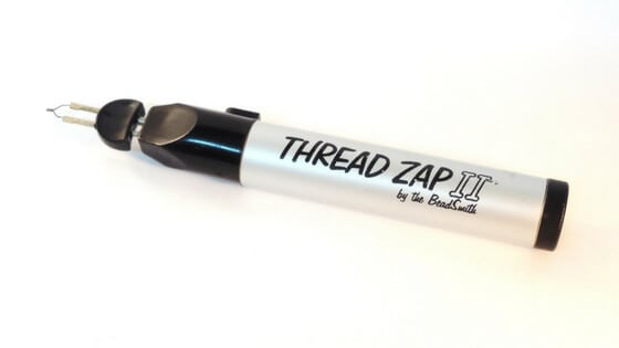 Thread burner - Making Beadwork Look Professional