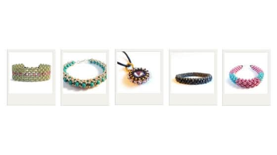 Gifts for Jewelry Makers - From Zero to Expert: Right Angle Weave