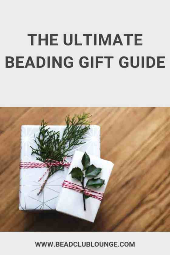 Here's a list of the best gifts for jewelry makers. If you know someone who loves beading, bead weaving and jewelry making, this is the gift guide for you. #christmas #gifts #giftguide #giftgiving #beads #jewelrymaking #TheBeadClubLounge