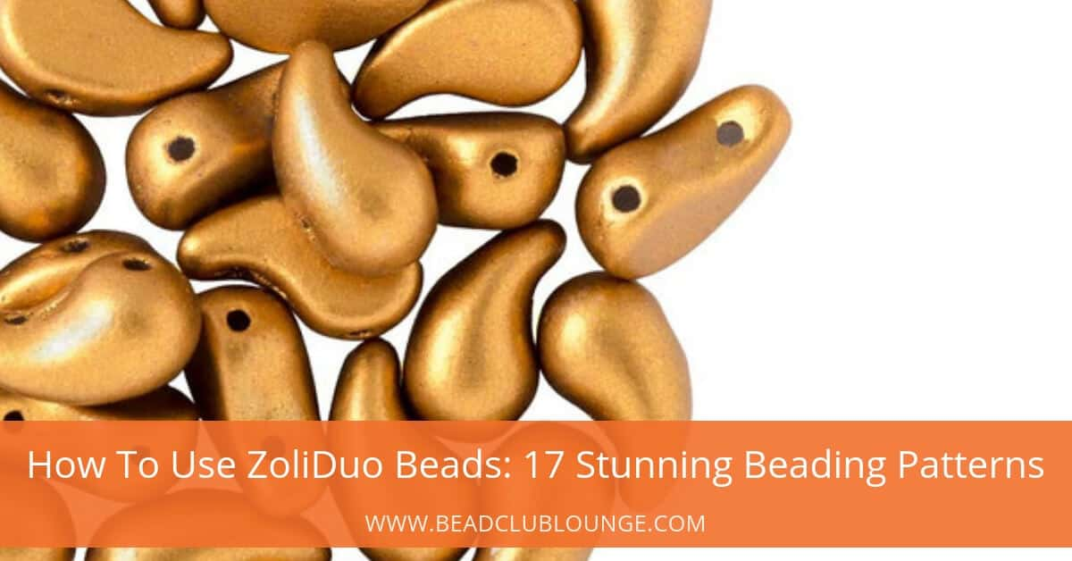 for personal use only ZOLIBEE Zoliduo SuperDuo and O Beads Beadwork Necklace Instructions