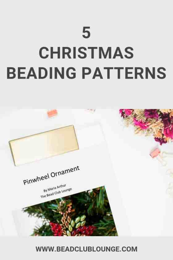 Want some beading patterns for Christmas? Try one of these simple, step-by-step beading pattern from The Bead Club Lounge. There are snowflake patterns for beginners and you can even learn how to make a beaded star. Enjoy these projects for the holidays to make gifts for others or use as handmade Christmas decorations. #christmas #beadingpatterns #beadingtutorials #beading #handmadejewelry