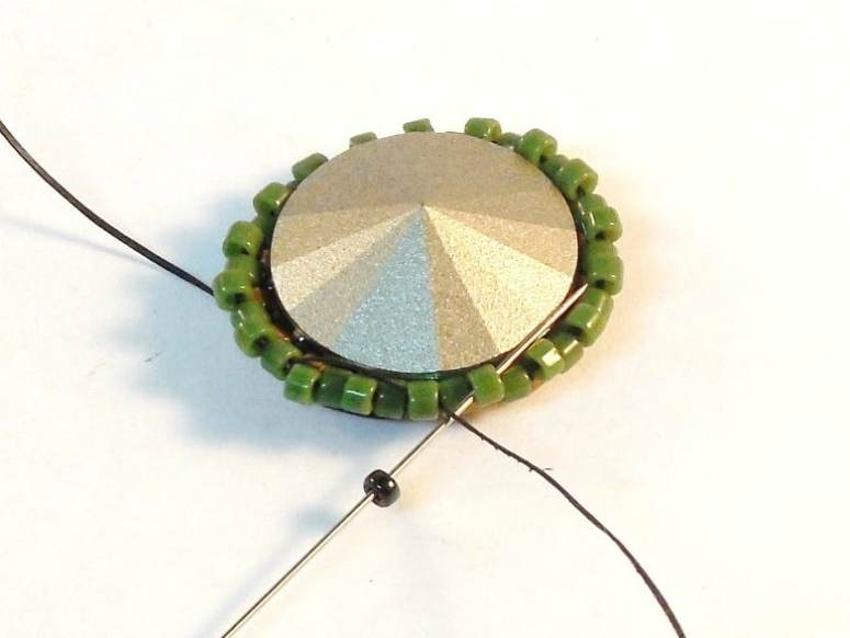 How To Make An Open Back Bezel - Easy Jewelry Tutorial - Step 10