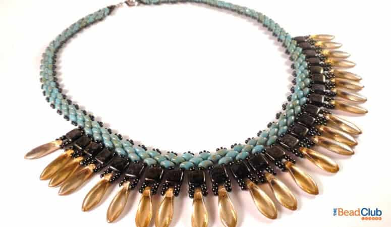 15 Stunning SuperDuo Necklace Patterns You Need To Make