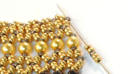 Bring a beading project to work on when things slow down.