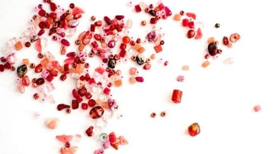 Make bead soup when you don't know what to do with leftover beads.
