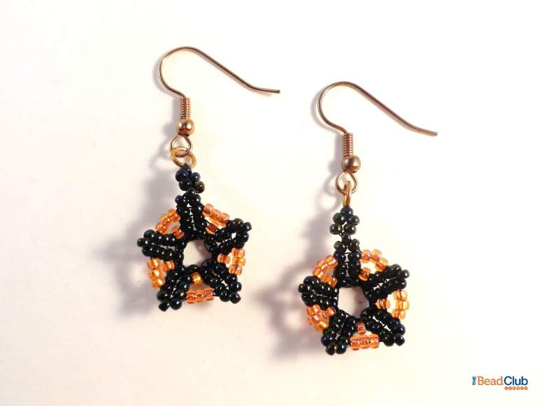 Dark Bloom Earrings Pattern