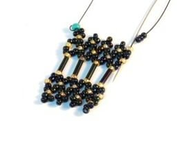 Step 23 - Free Netting bead pattern