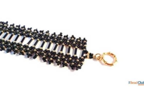 Free Netting Pattern – How To Make This Elegant Beaded Bracelet