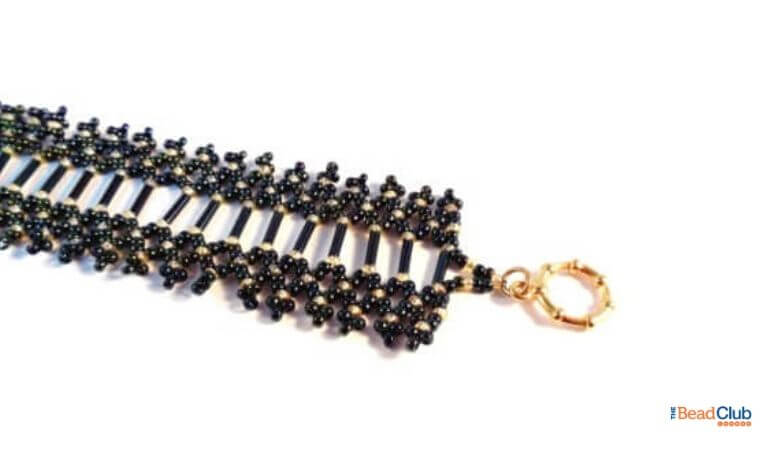 Free Netting Pattern – How To Make This Elegant Beaded Bracelet