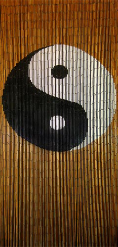 Beads and Buddhas Spiritualthemed Door Curtains  Beaded