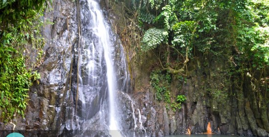 Taktak Falls, Siargao