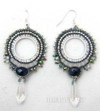 beaded earrings   BEADFEAST