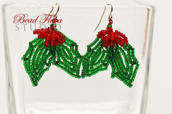 French beaded holly jolly earrings pdf automatic payment