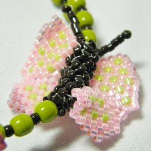 Beaded butterfly bracelet, Katie Dean, Beadflowers