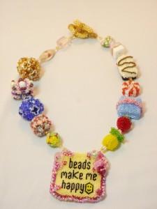 Make Beaded Beads, Katie Dean, Beadflowers