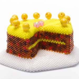 Simnel Cake, what is Mothering Sunday, Katie Dean, Beadflowers