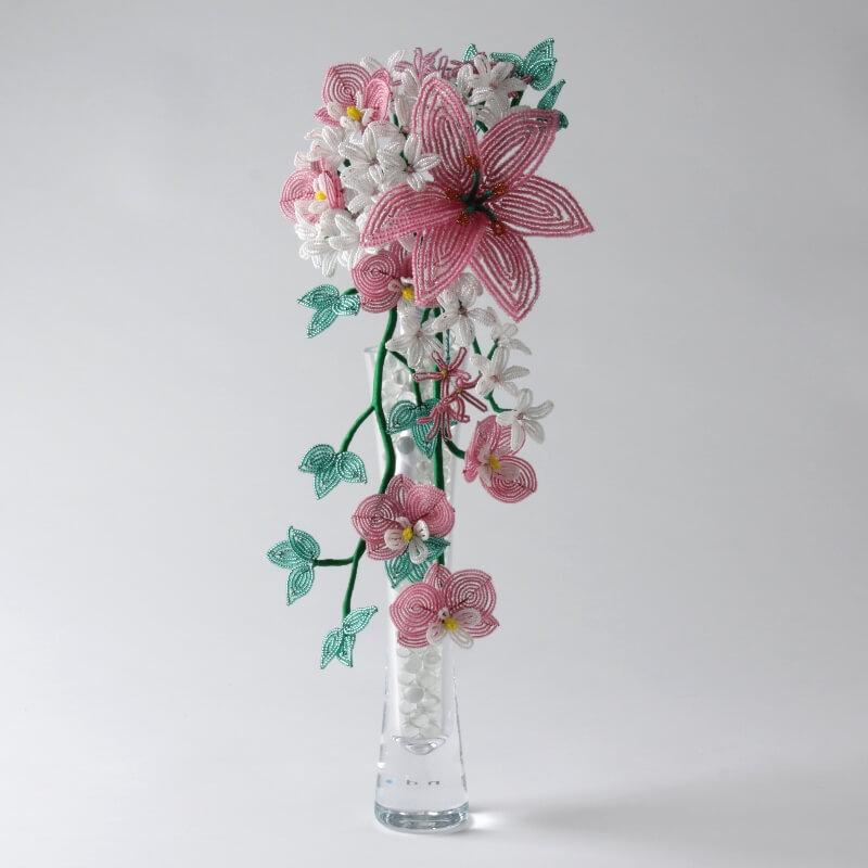 French Beaded Cascade Bouquet Kit, Katie Dean, Beadflowers