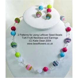 Using Leftover Seed Beads