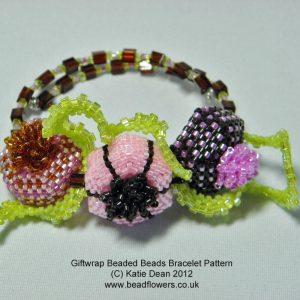 Giftwrap Beaded Bead Bracelet Pattern