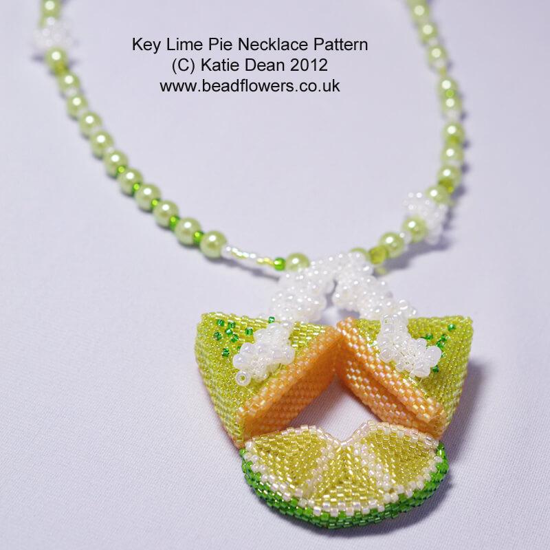 Key Lime Pie Necklace Pattern