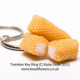 Twinkies Key Ring
