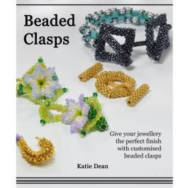 Beaded Clasps book by Katie Dean, Beadflowers