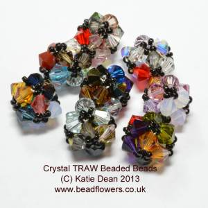 Crystal Beaded Bead Pattern, Katie Dean, Beadflowers