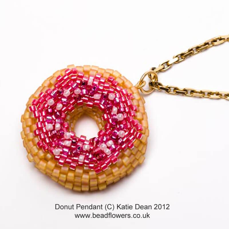 Donut Pendant