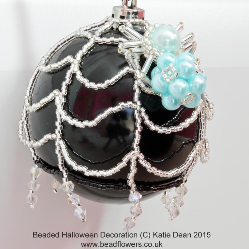 Beaded Halloween Decoration