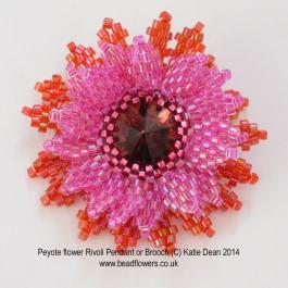 peyote_flower_pendant_brooch