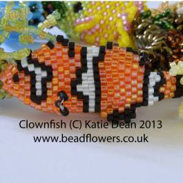 beaded clown fish