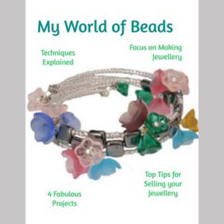 My World of Beads Jewellery Making Booklet, Katie Dean, Beadflowers