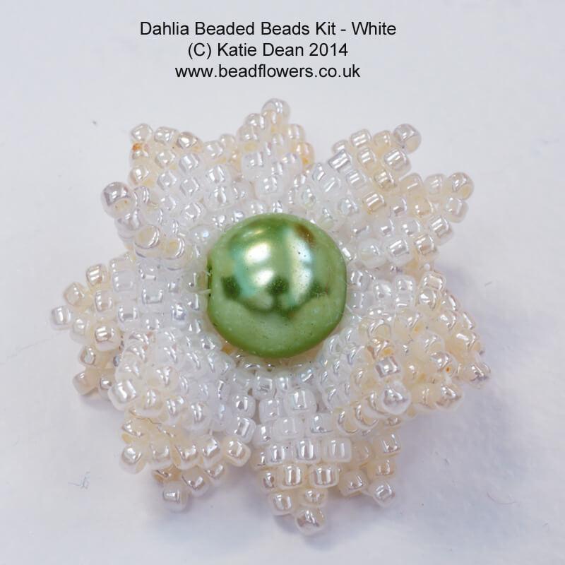 Dahlia Beaded Beads Kit