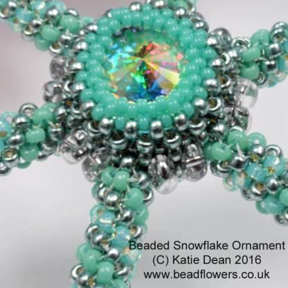 Elsa Beaded Snowflake