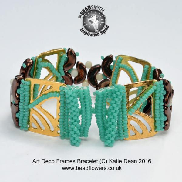 Beaded Art Deco Bracelet Pattern Katie Dean