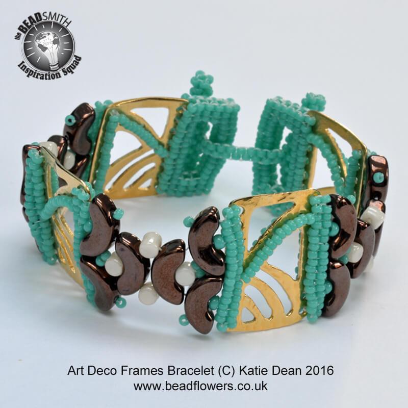 Beaded Art Deco Bracelet
